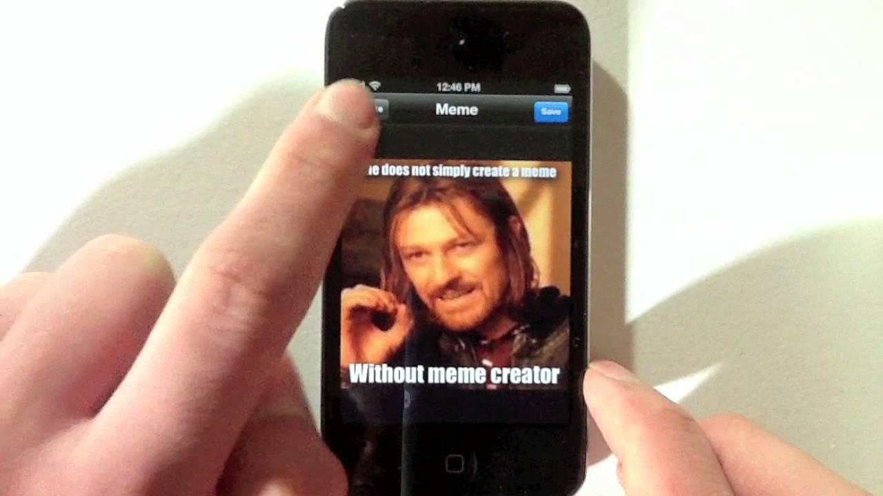 creador de Memes móvil